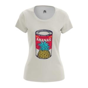 Женская футболка Ananas Банка с Ананасами - main 4kvm9lhg 1571231134