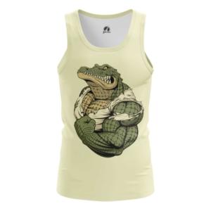 Мужская майка Крокодил Принт Рептилия - main 5gdrxi8z 1573841261