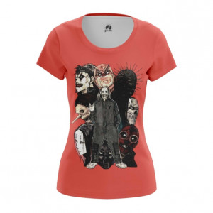 Женская футболка Слипкнот маски Slipknot - main 5hwtpbhr 1562922446