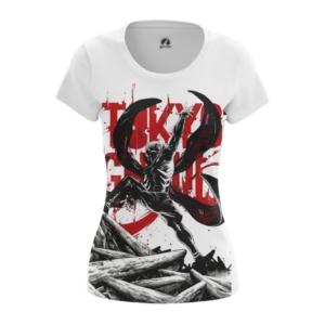 Женская футболка Токийский гуль Атрибутика - main 7wzqzowu 1563455111