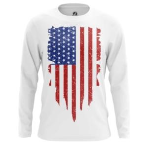 Мужской лонгслив Флаг США Атрибутика - main 8025mj3j 1564417554