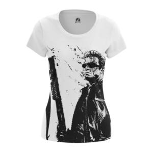 Женская футболка Шварценеггер Терминатор - main 8s6t3u4c 1572447513