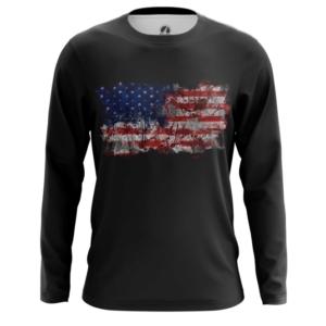Мужской лонгслив Американский флаг США - main aboqhb6o 1564417033