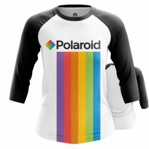 Женский реглан Polaroid Радуга Логотип - main ah39owjv 1572373623