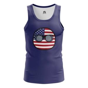 Мужская майка Кантриболз Флаг США - main ai3zhzge 1564416778