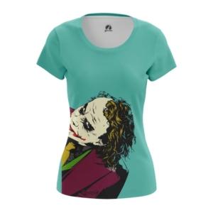 Женская футболка Хит Леджер Джокер - main az9tn01i 1572961860