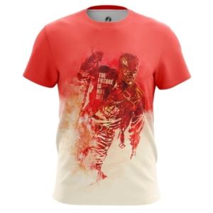 Мужская футболка Будущее не предопределено Терминатор - main azh7sbcm 1572447181