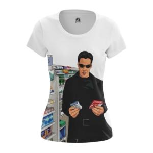 Женская футболка Избранный Матрица Нео Смешные - main b3olwfgm 1540299246
