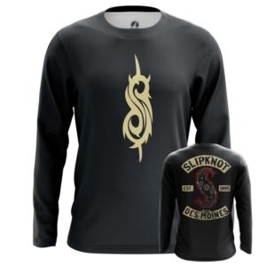 Мужской лонгслив Slipknot логотип одежда - main cblvoloy 1562922114