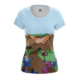 Женская футболка Starcraft карбот рисовка - main ck71oqij 1568204418