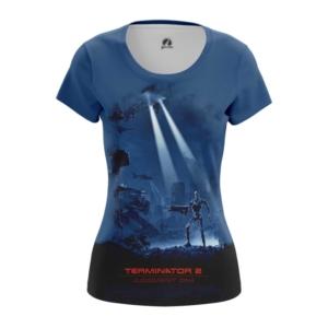 Женская футболка Судный день Терминатор - main clvk8zp2 1572447247