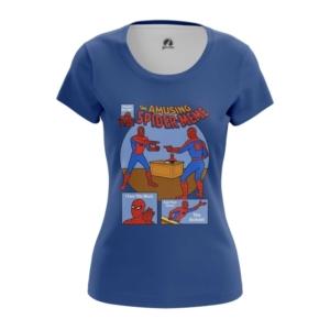Женская футболка Человек-паук Мем Олдскул - main cqf4xcgt 1556282487