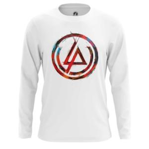 Мужской лонгслив Логотип Linkin Park Белая - main csuk9d3i 1552750341