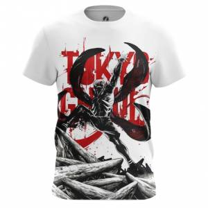 Мужская футболка Токийский гуль Атрибутика - main cwmyxmok 1563455105