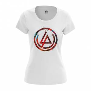 Женская футболка Логотип Linkin Park Белая - main cwvf2dvt 1552750263