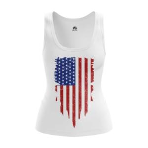 Женская майка Флаг США Атрибутика - main dgfewncd 1564417549