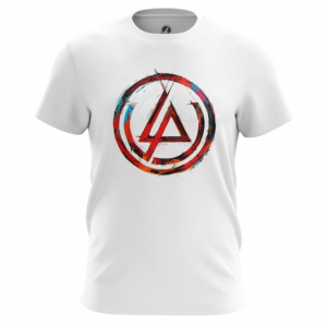Мужская футболка Логотип Linkin Park Белая - main dgyqew23 1552750230