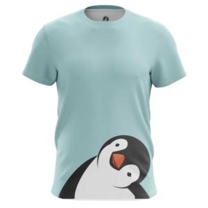 Мужская футболка Пингвин Милый птенец - main dse5el8l 1573843873