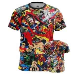 Мужская футболка Марвел герои принт одежда - main eemqaubt 1551779505