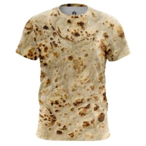 Мужская футболка Лаваш Принт Лепёшки - main eni64ffh 1571908238