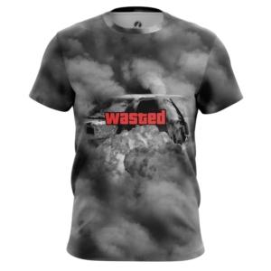 Мужская футболка Wasted ГТА Одежда Пойман - main fjabuc1i 1539264135