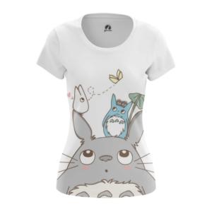 Женская футболка Тоторо Кавай Мерч - main fkfxz4fx 1563452858