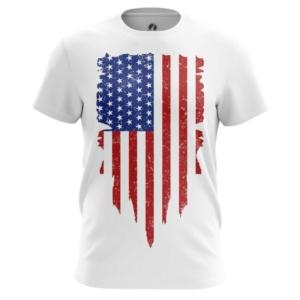Мужская футболка Флаг США Атрибутика - main fxv5fz3k 1564417531