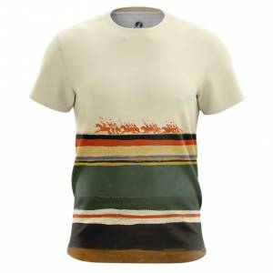 Мужская футболка Скачет красная конница Малевич - main gwgta8so 1540567944