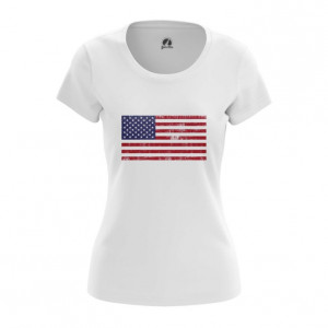 Женская футболка Флаг США Мерч Атрибутика - main hecfvdgy 1564417283