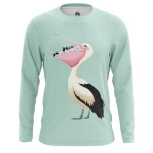 Мужской лонгслив Pelican Птицы Пеликан мерч - main homsbyb4 1573844692