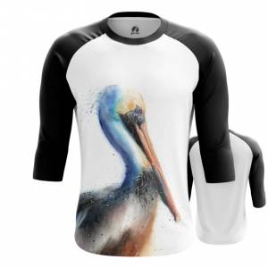 Мужской реглан Пеликан Одежда с птицами - main hsec7bto 1573843769