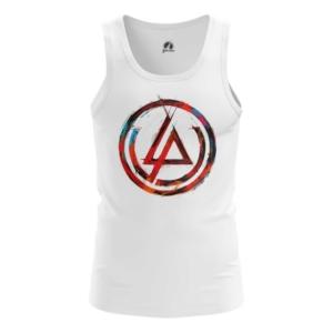 Мужская майка Логотип Linkin Park Белая - main ibdlekoz 1552750292