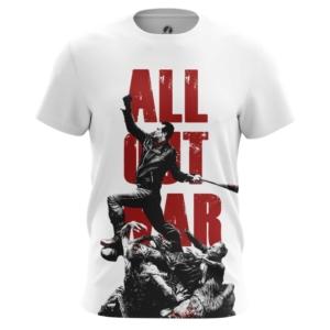 Мужская футболка All Out War Ходячие мертвецы - main ic1y2idu 1568891131