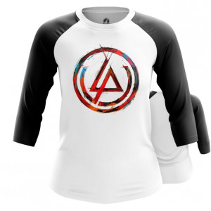 Женский реглан Логотип Linkin Park Белая - main ivpeusgl 1552750388