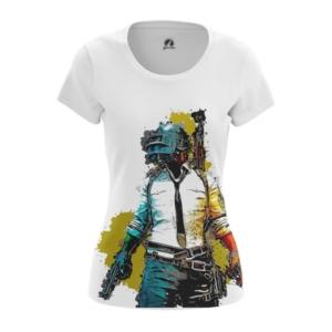 Женская футболка Pubg mobile PUBG - main j39g2fog 1568896120