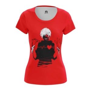 Женская футболка Канеки Токийский гуль - main jec5n7hw 1563454381