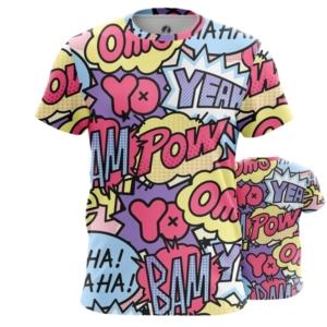 Мужская футболка Поп арт Краски принт паттерн - main jswudgi7 1538408646