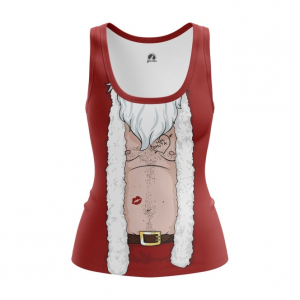 Женская майка Плохой Санта Костюм Деда Мороза - main jvewb5r6 1544448639