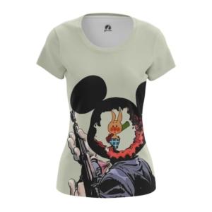 Женская футболка Пятачок против диснея Винни Пух - main l9eotkgl 1553872439