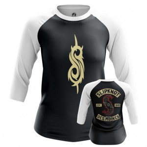 Женский реглан Slipknot логотип одежда - main lhelldlq 1562922124
