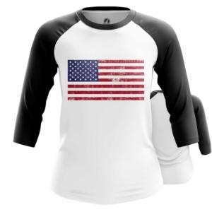 Женский реглан Флаг США Мерч Атрибутика - main lknpg1nk 1564417339