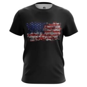 Мужская футболка Американский флаг США - main lx87xizz 1564417010