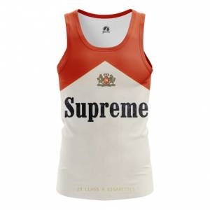 Мужская майка Supreme cigarettes Поп арт - main mxyqg1yk 1538409343