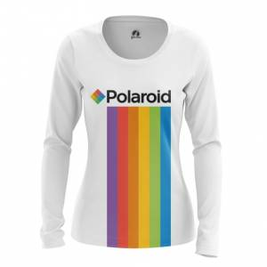 Женский лонгслив Polaroid Радуга Логотип - main mzwr14ef 1572373603