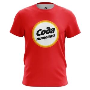 Мужская футболка Сода Пищевая Еда Логотип - main nn4jcwpl 1572372682