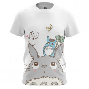 Мужская футболка Тоторо Кавай Мерч - main npdke5bl 1563452848