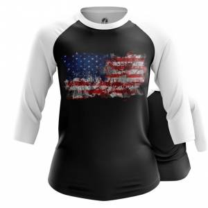 Женский реглан Американский флаг США - main o8yttyhz 1564417052