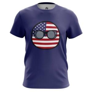 Мужская футболка Кантриболз Флаг США - main ohkzytiy 1564416766