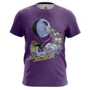 Мужская футболка Звездные войны рождество звезда смерти - main onczi0qr 1545138686