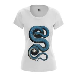 Женская футболка Змея Принт со Змеями - main oqfwwvc2 1573840440